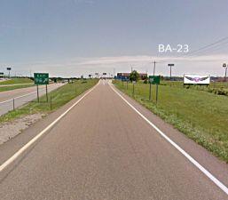 ba-23 Sign Locations